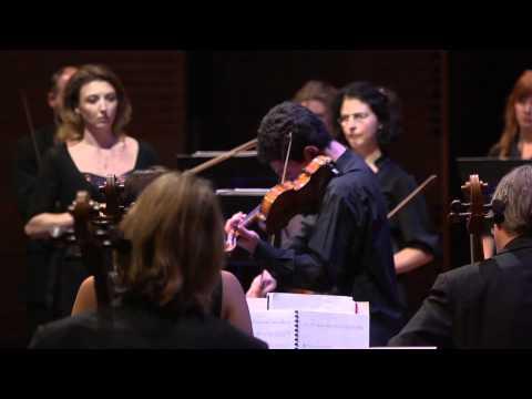 Amsterdam Sinfonietta|Candida Thompson and Sergey Khachatryan Aharonian Violin Concerto No 2 (1/3)