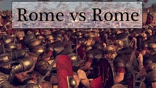 Total War Rome 2 Online Battle Video 34 Rome vs Rome