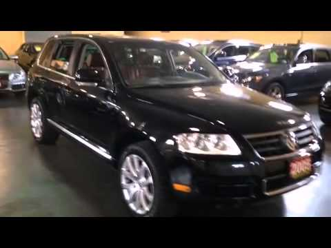 In Toronto - 2005 Volkswagen Touareg V8 AWD Navigation Leather Sunroof 19Alloys SUV - YouTube