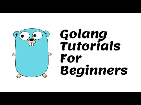 Golang Tutorials For Beginners thumbnail