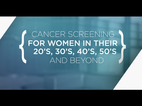 What Tests Should Women Get To Screen For Cancer?