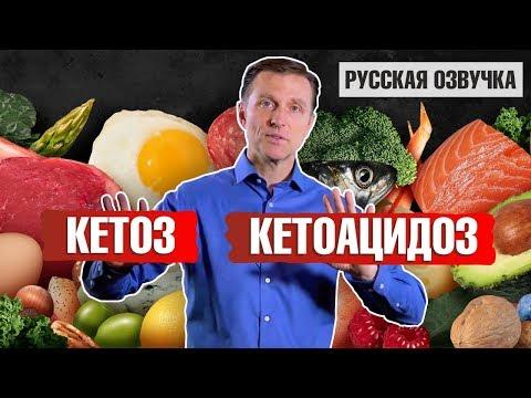 КЕТОЗ и КЕТОАЦИДОЗ: в чем разница? (русская озвучка)