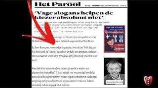 Steve Brown eist €20,000 van 'Parool Huurmoordenaars' wegens 'moordaanslag'.