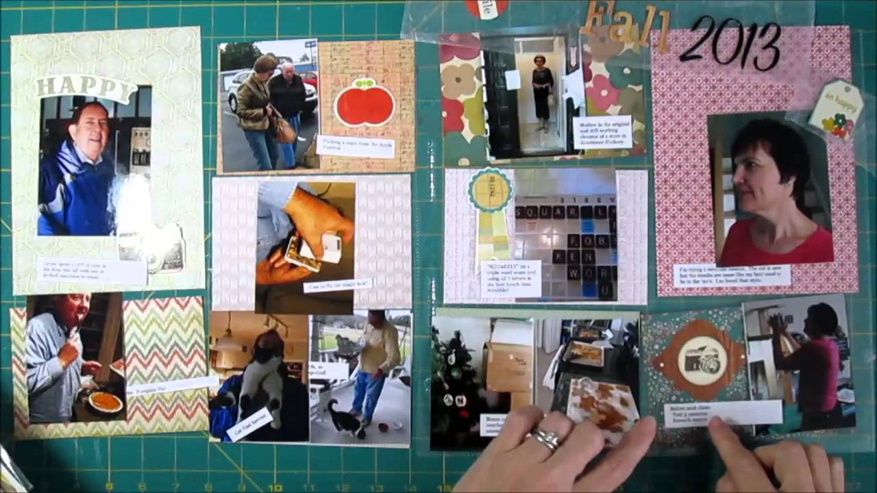 How to scrapbook without page protectors - How To Scrapbook Without Page Protectors 6