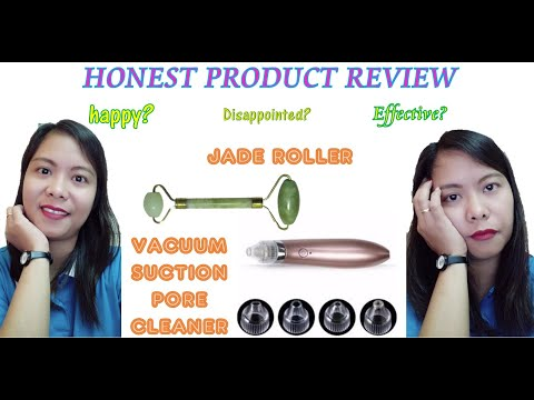 JADE ROLLER & VACUUM SUCTION PORE CLEANER HONEST PRODUCT REVIEW
