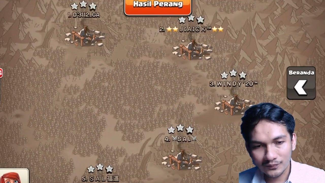 INI YANG TERJADI SAAT DUA TIM PRO BERTEMU! Clash of Clans Indonesia
