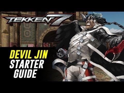 [TEKKEN 7] 2-Minute DEVIL JIN Starter Guide! | Character Rundown【鉄拳7】