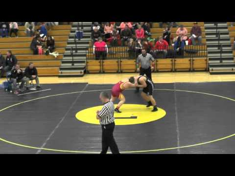 Division III Sectional Wrestling - Day One Evening Session 02-27-2015