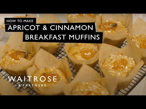 Apricot And Cinnamon Breakfast Muffins | Waitrose