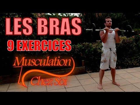 9 exercices musculation bras avec halt res et barre youtube. Black Bedroom Furniture Sets. Home Design Ideas
