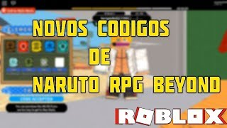 🎮 NEW NARUTO RPG CODE BEYOND! -ROBLOX 🎮