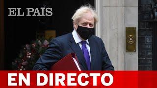 Boris Johnson informa sobre la situación de la COVID-19 en REINO UNIDO