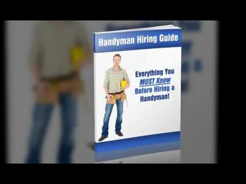 3 Common Concerns About Hiring A HandyMan