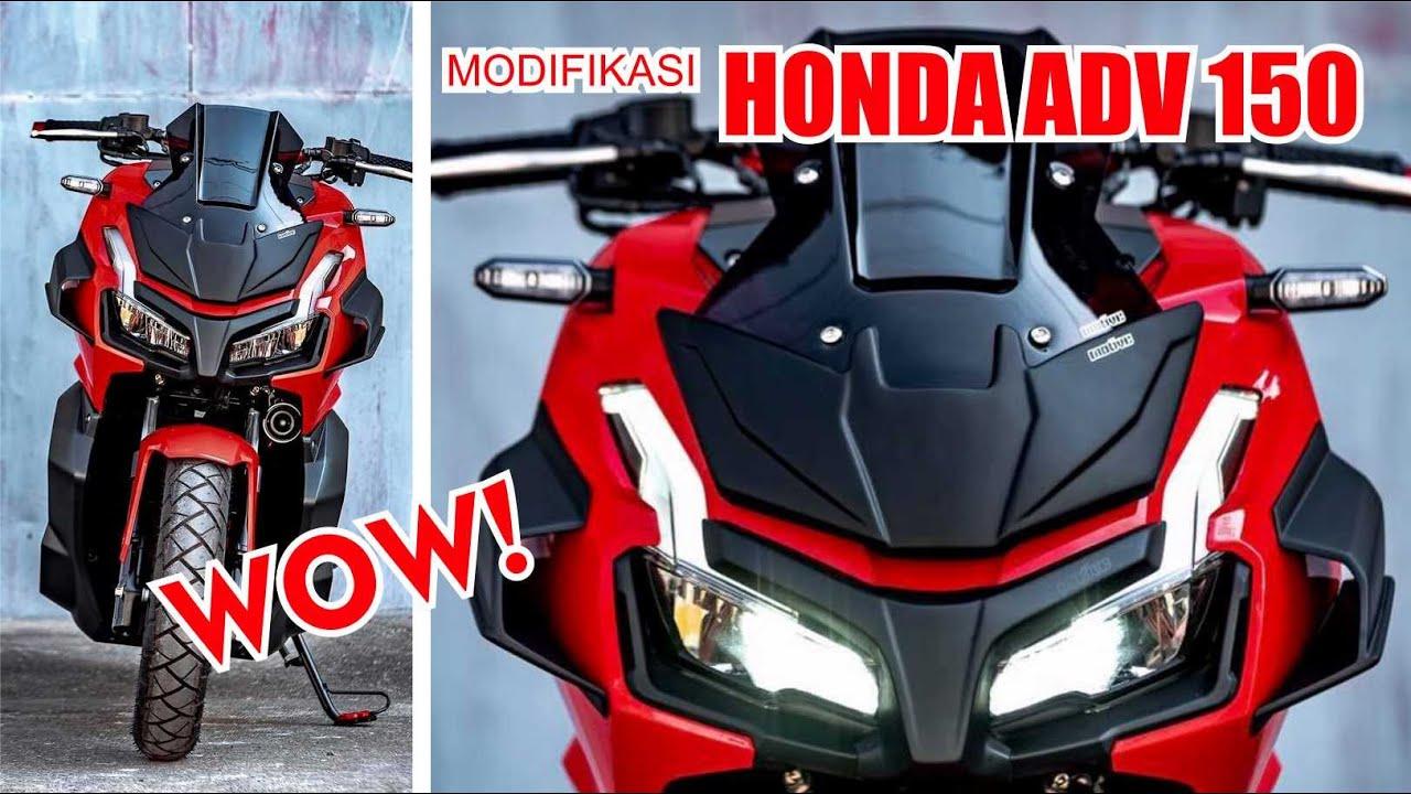 Modifikasi Ala Transformers Honda ADV 150. Keren! - YouTube