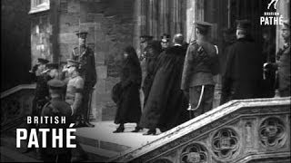 Royal Family Leaving Funeral At St Georges C 1915 - 1920 (1915-1920)