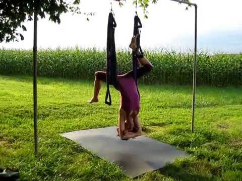 Yoga Swing Vinyasa Sequence All Levels Instruction