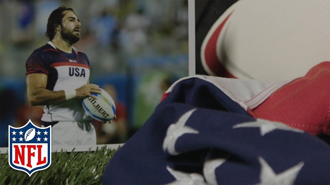 online store 2a321 ebe0a Nate Ebner - Olympic Patriot | NFL360