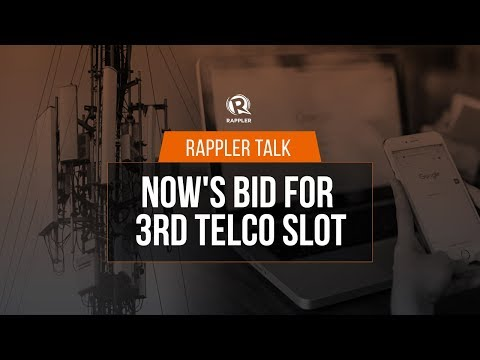 Rappler Talk: NOW Telecom's bid for 3rd telco slot