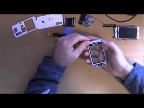 How To Change Touch Screen For Samsung S5230