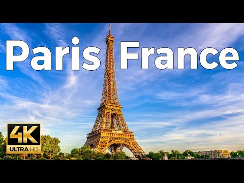 Paris, France Walking Tour (4k Ultra HD 60fps)