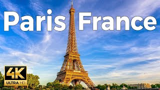 Paris, France Walking Tour (4k Ultra HD 60fps)