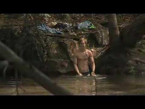 Rhys Wakefield half naked