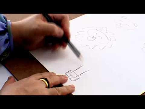 การสอนวาดรูปใช้ลายเส้น