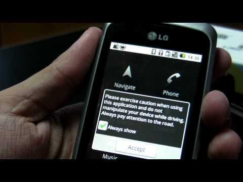 LG Optimus One P500 review HD ( in romana ) - www.TelefonulTau.eu -