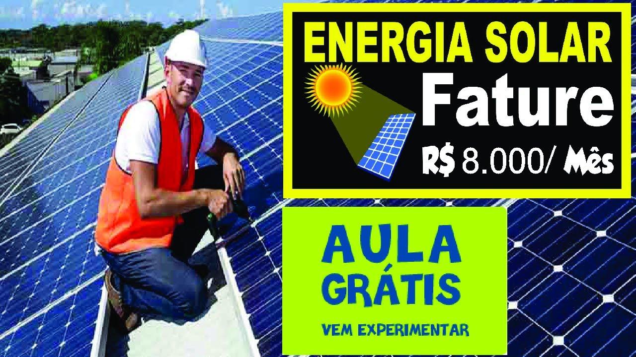Energia solar como montar seu neg cio de placas solares for Montar placas solares en casa