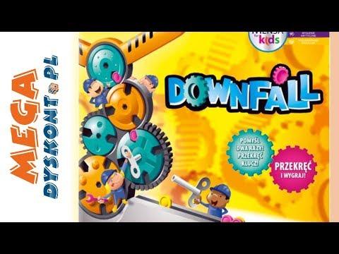 Downfall Gra • Przekręć i wygraj • Hasbro Gaming • Gry dla dzieci