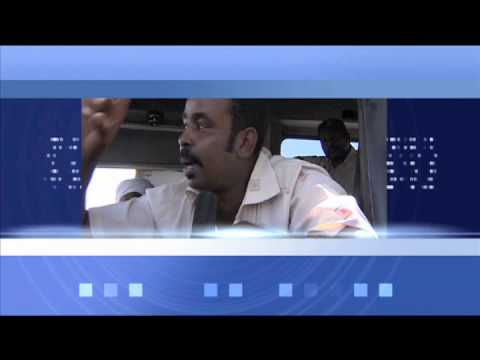 TV news training in Sudan