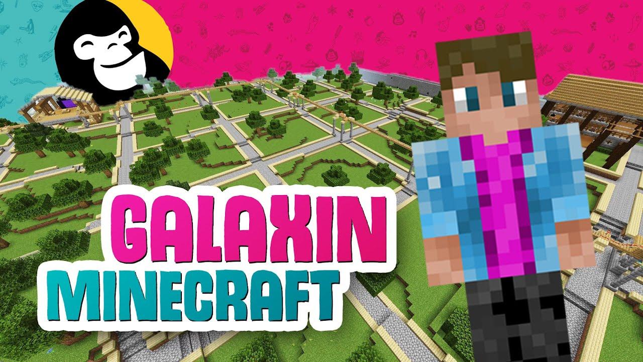 ELON SALAINEN TEHTÄVÄ - Galaxin oma Minecraft-maailma!