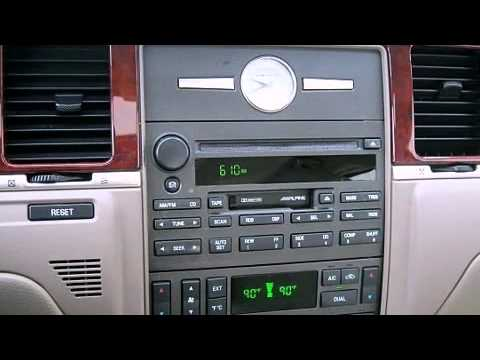 1997 Ford Radio Wiring Harness 2003 Lincoln Town Car Signature Youtube