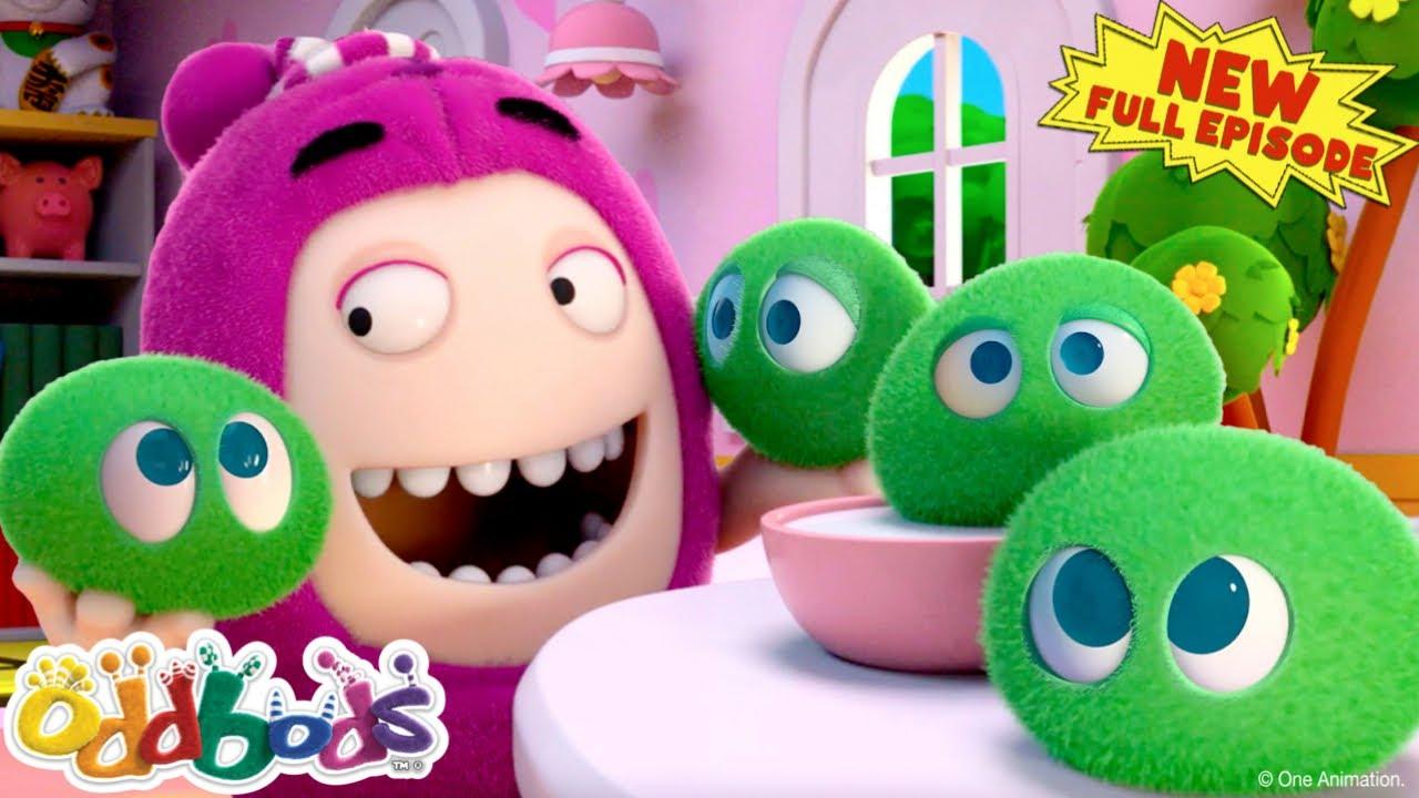 Oddbods | Newt's New Furry Pet? | NEW Full Episode | Cartoon For Kids