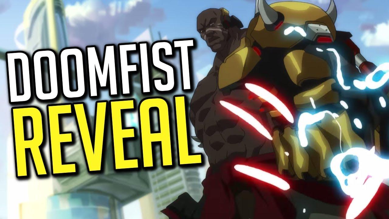 doomfist reveal trailer