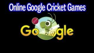 Online Google Cricket Game