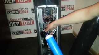 Кулер для воды с газацией и стаканодержателем Vatten v803NKDG и v803NKD ОБЗОР№3