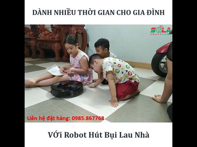 Khách hàng Sử dụng Robot Hút Bụi Lau Nhà Liectroux ZK901 | Giải pháp Nhà Thông Minh SALA