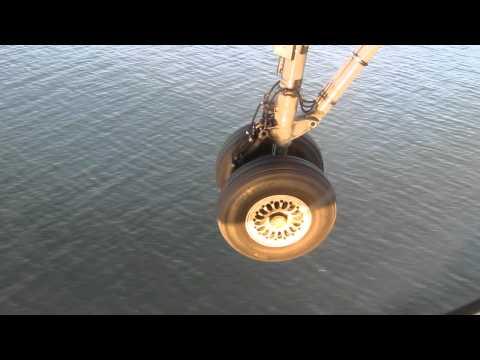 Landing at the Chubu Centrair International Airport