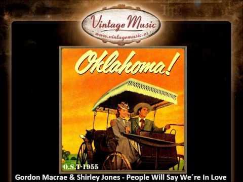 07   Gordon Macrae & Shirley Jones   People Will Say We´re In Love Oklahoma OST VintageMusic es