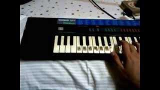 Akon-right now na na .. piano tutorial.