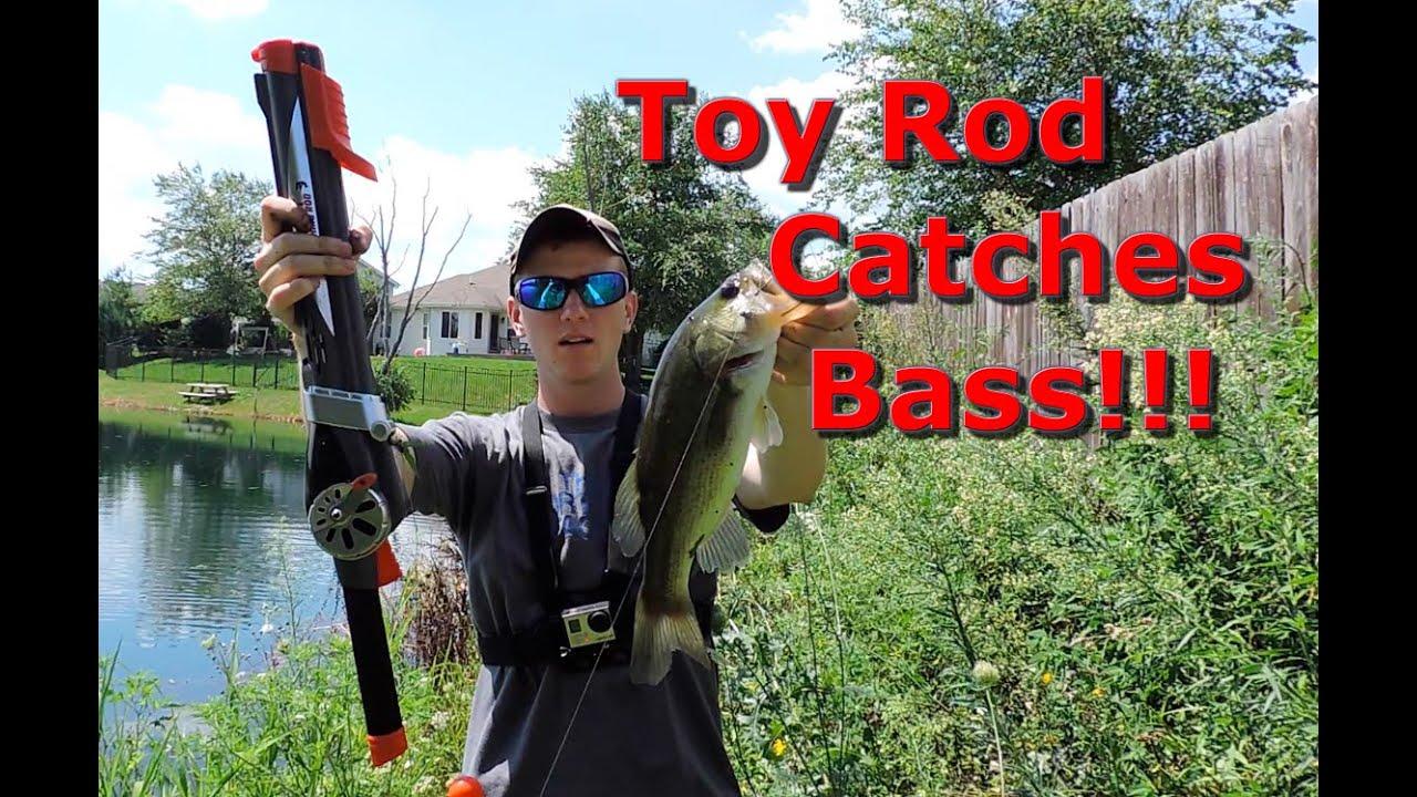 Rocket fishing rod catches big fish youtube for The rocket fishing rod