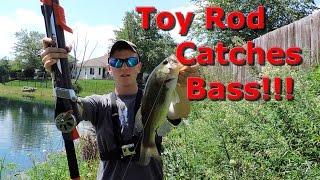 rocket fishing rod catches big fish