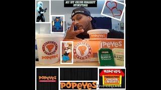 Popeyes | New Buffalo Chicken Strips | Mukbang | 1st Crush Storytime