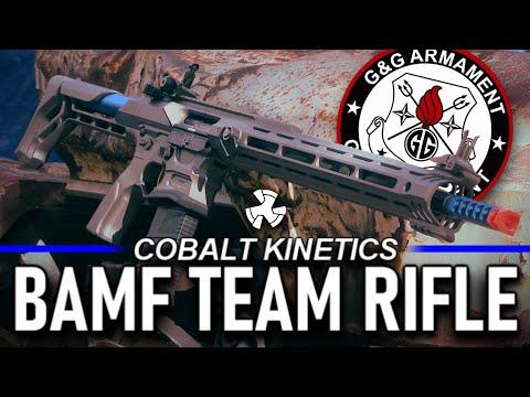 The $550 Competition Airsoft Gun - G&G Cobalt Kinetics BAMF Team Rifle Airsoft M4 Review