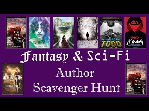 Author Scavenger Hunt | Fantasy & Sci-Fi (Giveaway Closed)