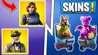 *NEW* Fortnite Season 6 Leaks! | Skins, Pets, Gliders, Emotes! ( Update )