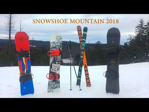 Skiing In Snowshoe Mountain 2018