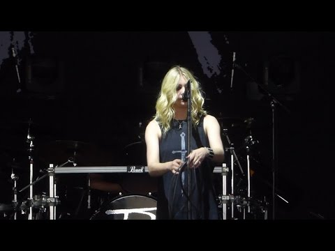 Like a Stone Dedicated to Chris Cornell The Pretty Reckless@Camden, NJ 52017