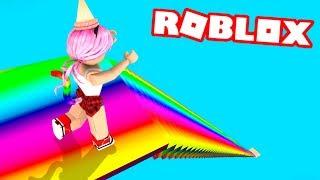 DROP 999,999,999 METERS OF ARCOIRIS in ROBLOX
